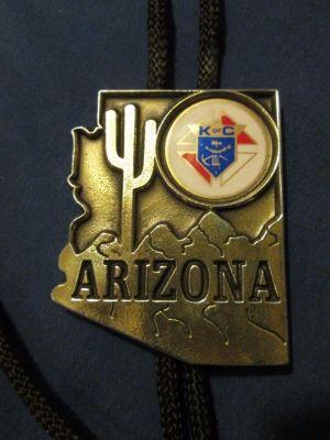 Arizona K of C bolo tie
