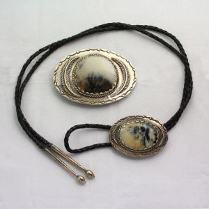 Agate Bolo Ties for sale